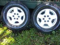 FOUR (4) CHEVY LATE MODEL 6 LUG RIMS CALL  Location: