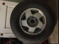 BRAND NEW TIRES OFF 96 CHEVY 1500 SUBURBAN. DUNLOP
