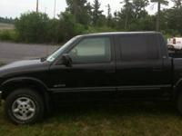 2001 s10 crewcab 128000 miles. I bought this truck in