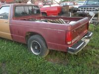 1992 Chevy S10 Bed/Tailgate, includes turn signal/brake