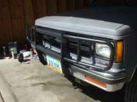 Grille Guard for 1982-1993 S10, S15, Blazer, or Jimmy.