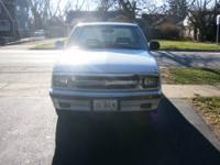 1996 Chevy S-10 Extended Cab, 2x4 RWD, 2.2 ltr engine,