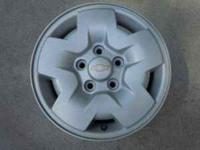 Factory aluminum wheels off S10 4x4 Positive offset 5 x