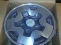 i have a complete set of 4 chevy s10 rims off of a ZR2
