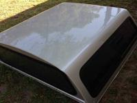 Truck topper for a Chevy silverado truck double taxi or