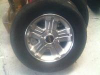 Up for sale are some really nice Silverado wheels that