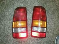 Stock Taillights off a 2000 Model Chevy Silverodo. Good
