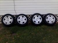Have chevy stock wheels, came off a monte carlo 5 lug