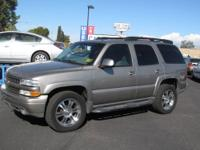For sale is a beautiful 2002 Chevorlet Tahoe. This