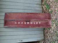 I have a original tail gate from a 1979 Chevy pick up.