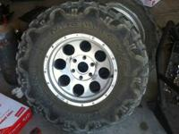 Selling a set of 4 offroad tires and wheels that came