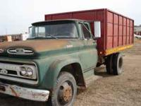 1961 chevy viking 60 truck, 4 and 2 speed, very heavy