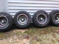 I have a set of chevy truck ralley wheels for sale