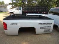 """"""" 08 """" chevy truck bed ,, with tail gate ,,no rust $"""