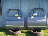 I have a pair of chevy doors from a blazer or jimmy