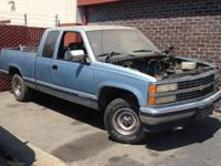 I have a non-operating Chevy Truck for sale. It is not
