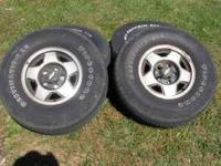 4 CHEVY TRUCK FACTORY 5 STAR WHEELS I CAN NOT FIND THE
