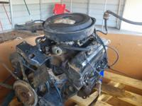 chevy  engine  off a 1977 pick up complete