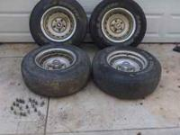 I have a set of Chevy 15 inch wheels complete with
