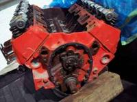 chevy 355 motor, w/ 1962-67 194 double hump 194 heads,