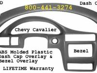 ABS Molded Plastic Dash Cap Overlay Fits 95-05 Chevy