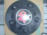 One Chevy S10 hubcap. Brand New! Call . Location: