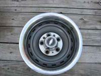 SET 4 OF 15X8 CHEVY TRUCK RALLYS VERY NICE COND $100.00