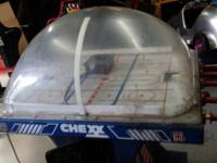CHEXX A.H.A. U.S.A. Bubble Top Electronic Hockey Game