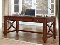 $299.99 Retail Value. We have one Cheyenne Writing Desk
