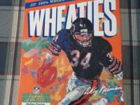 Chicago Bears collection includes: *Walter Payton