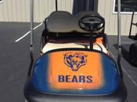 If your a bears fan this golf cart is for you we build