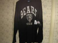 Each Chicago Bears apparel item is brand new officially