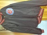 Brand new never worn Chicago cubs Jersey and Jacket.