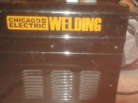 Electric Welder like new. This welder sells for $120.00