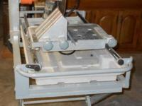 "Our Chicago 2.5 HP 10"" saw comes with a 10"" diamond"