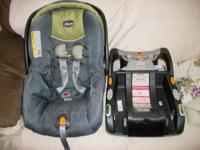 Hello I have for sale a Chicco baby stroller and car