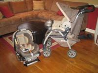 Chicco Travel System. Includes: stroller, car
