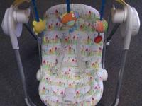 Chicco Polly Swing Birdland Swing  Rocking chair for