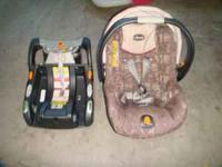 I have this chicco carseat and a base which are in