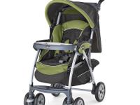 The aluminum frame Cortina stroller with one-hand fold