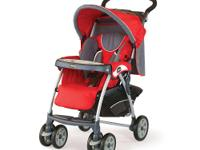 The aluminum frame Chicco Cortina Stroller in Fuego