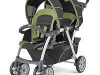 The Chicco Cortina Together Double Stroller is the