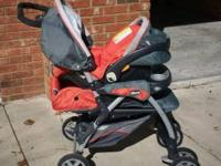 Cortina Stroller One-hand fold and automatic storage