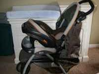 Very nice stroller car sear combo with base $125 obo