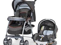The Chicco Cortina Travel System Stroller includes the