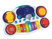 Chicco DJ Piano is an electronic keyboard with an