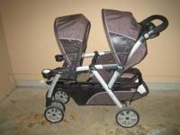 Chicco Cubes Double Stroller. Asking $220 cash. This