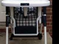 Chicco Highchair, in good shape, clean, nothing wrong