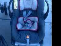 Used Chicco Keyfit travel system in good condition for
