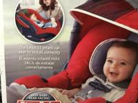 Here is a Chicco Keyfit 30 Carseat and base Red in